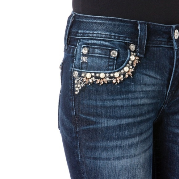 Miss Me Denim - Miss Me Wildflower Skinny
